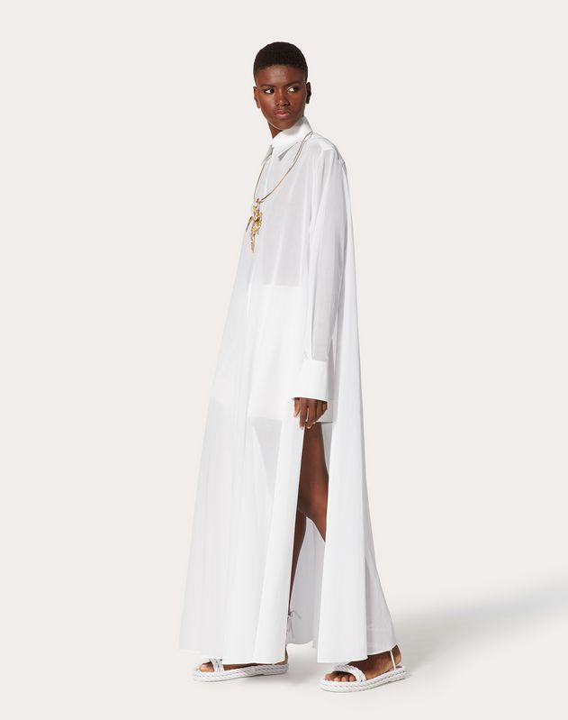 Oversized Cotton Voile Shirt