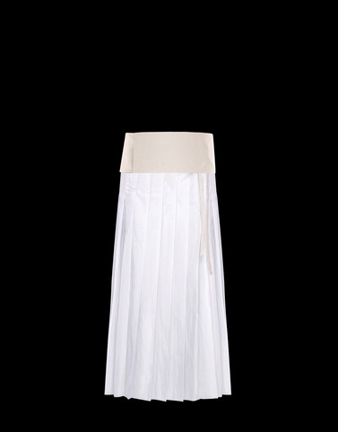 SKIRT Ivory New in Woman