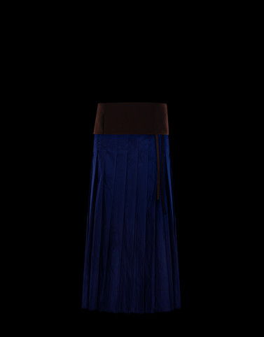 SKIRT Dark blue Skirts and Trousers