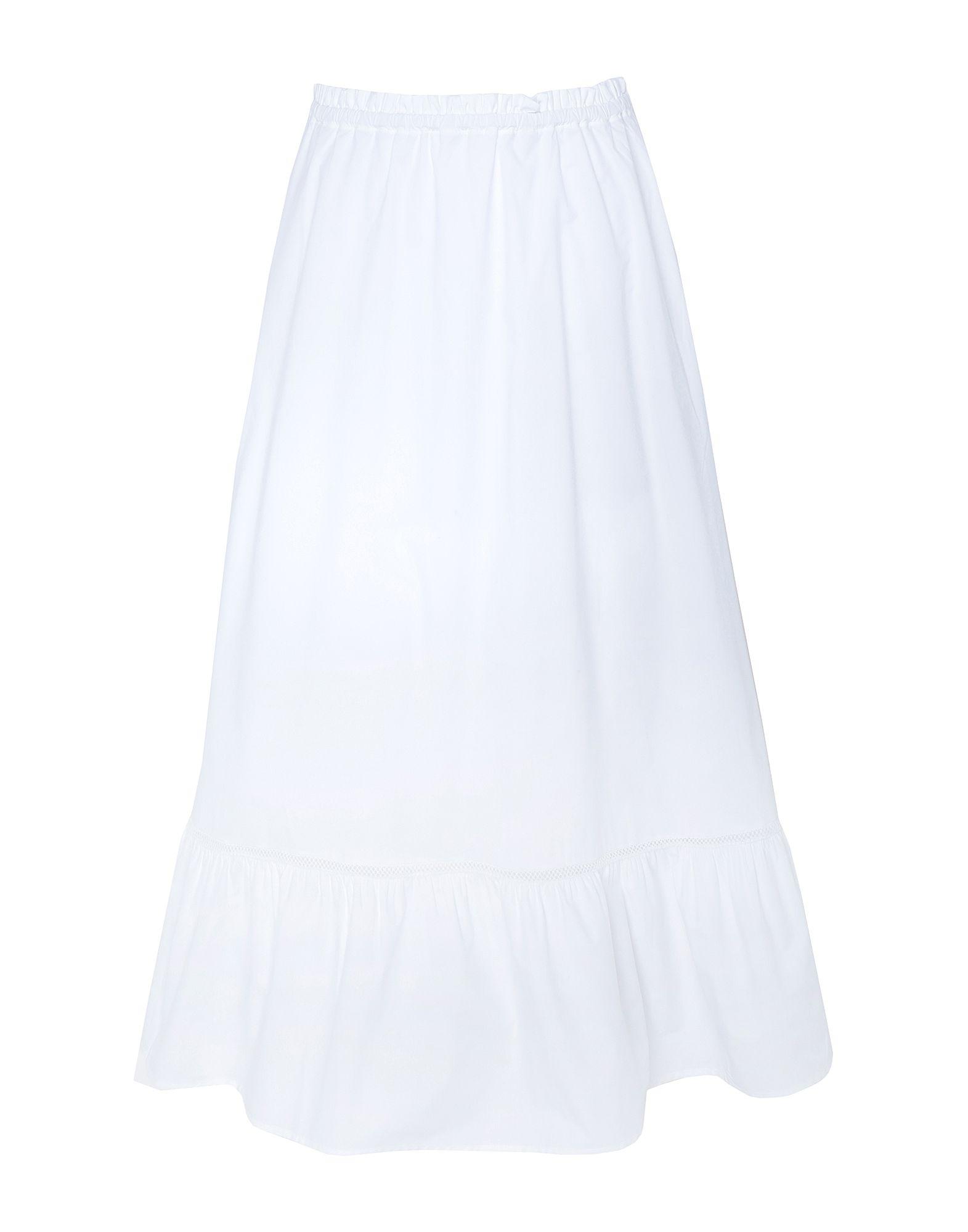 Фото - 8 by YOOX Юбка длиной 3/4 8 by yoox платье длиной 3 4