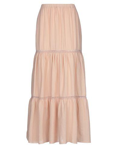 Фото - Длинная юбка от ZHELDA цвет телесный