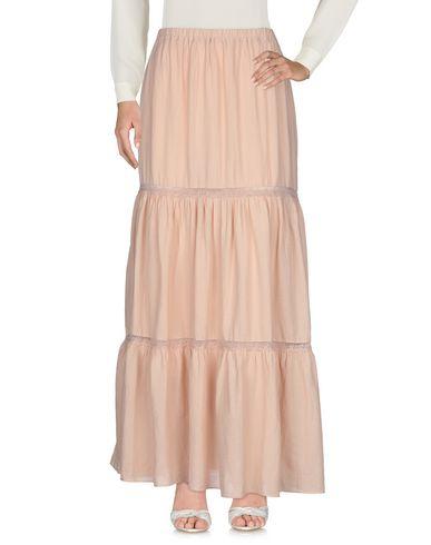 Фото 2 - Длинная юбка от ZHELDA цвет телесный