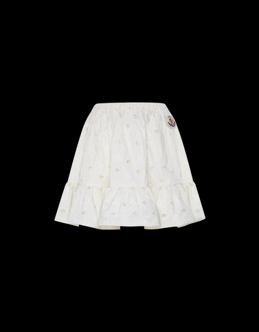 SKIRT Ivory Skirts and Trousers Woman