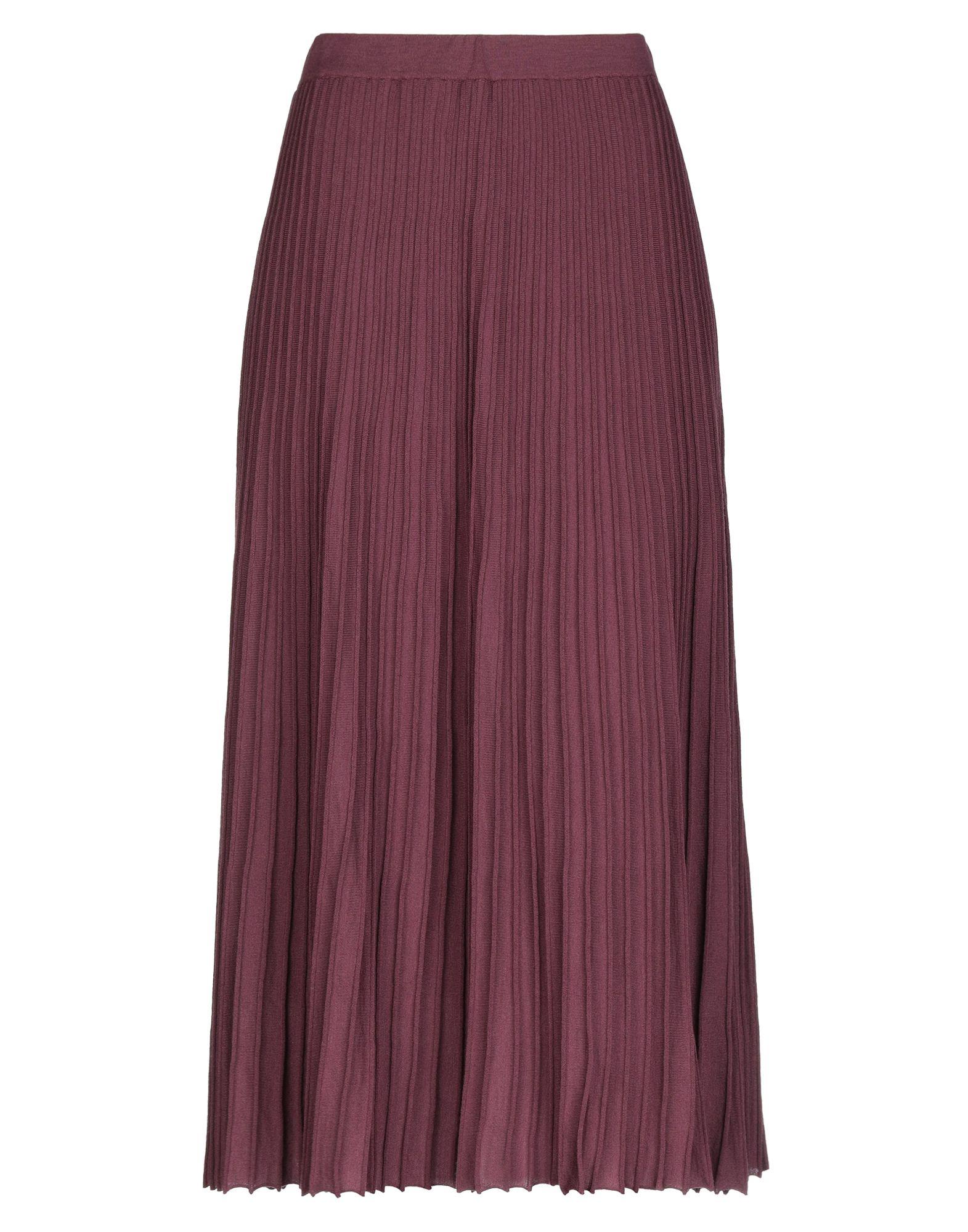 KANGRA CASHMERE Юбка длиной 3/4 kangra cashmere юбка до колена