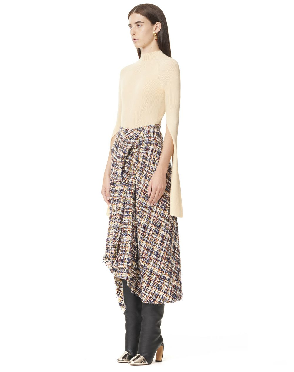 ASYMMETRIC WRAP SKIRT - Lanvin