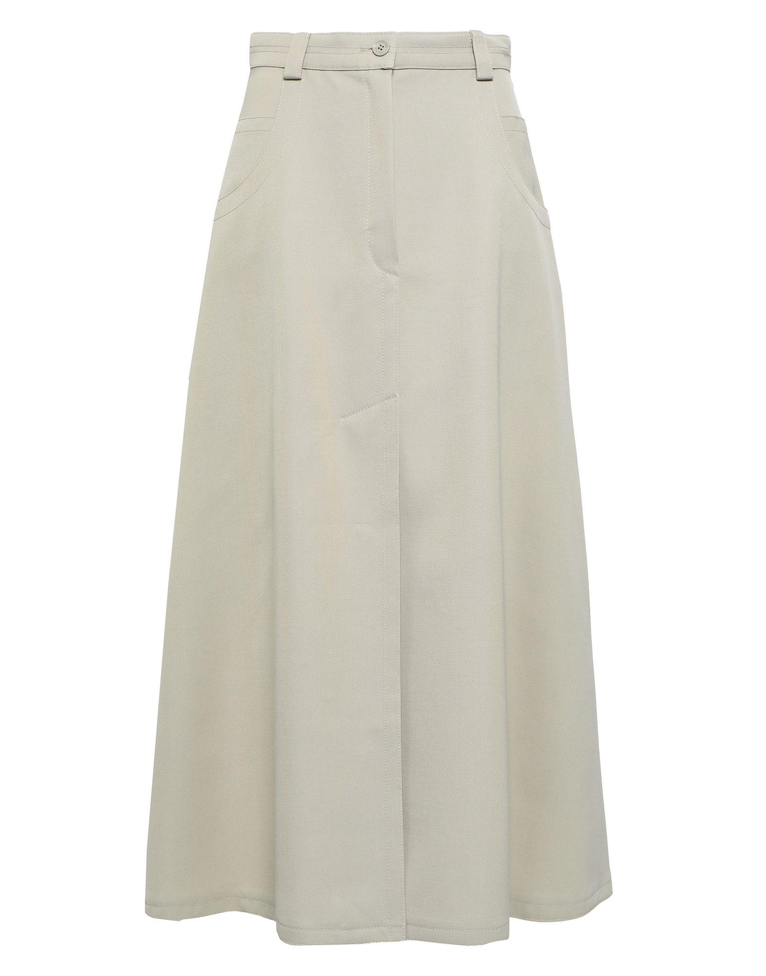NINA RICCI Длинная юбка nina ricci полосатая юбка