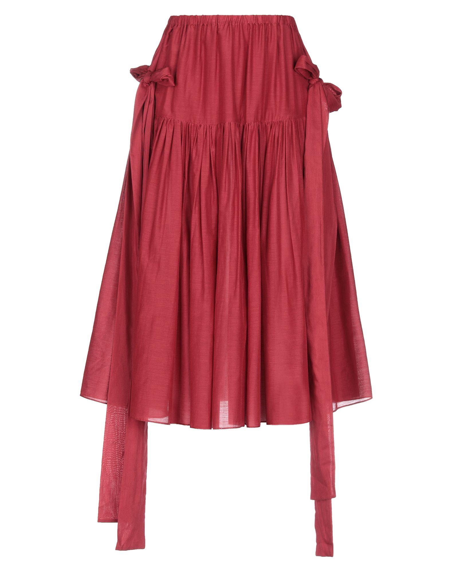 SARA LANZI Юбка длиной 3/4 sara lanzi юбка длиной 3 4