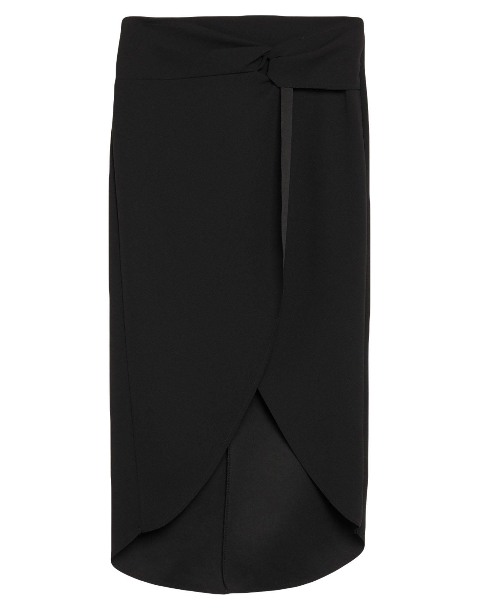 《セール開催中》HAVEONE レディース 7分丈スカート ブラック S ポリエステル 95% / ポリウレタン 5%