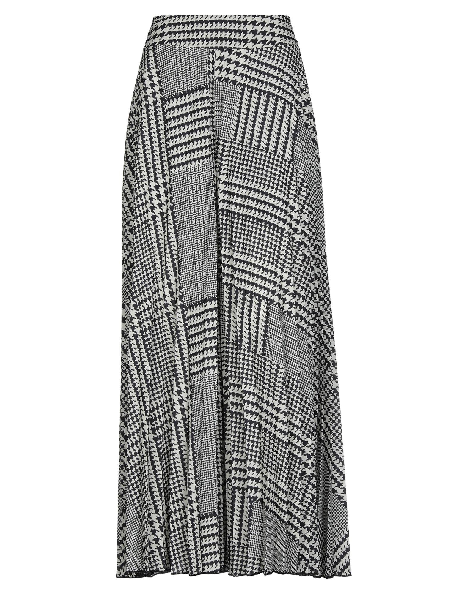《セール開催中》EUREKA by BABYLON レディース ロングスカート ブラック 44 ナイロン 100%