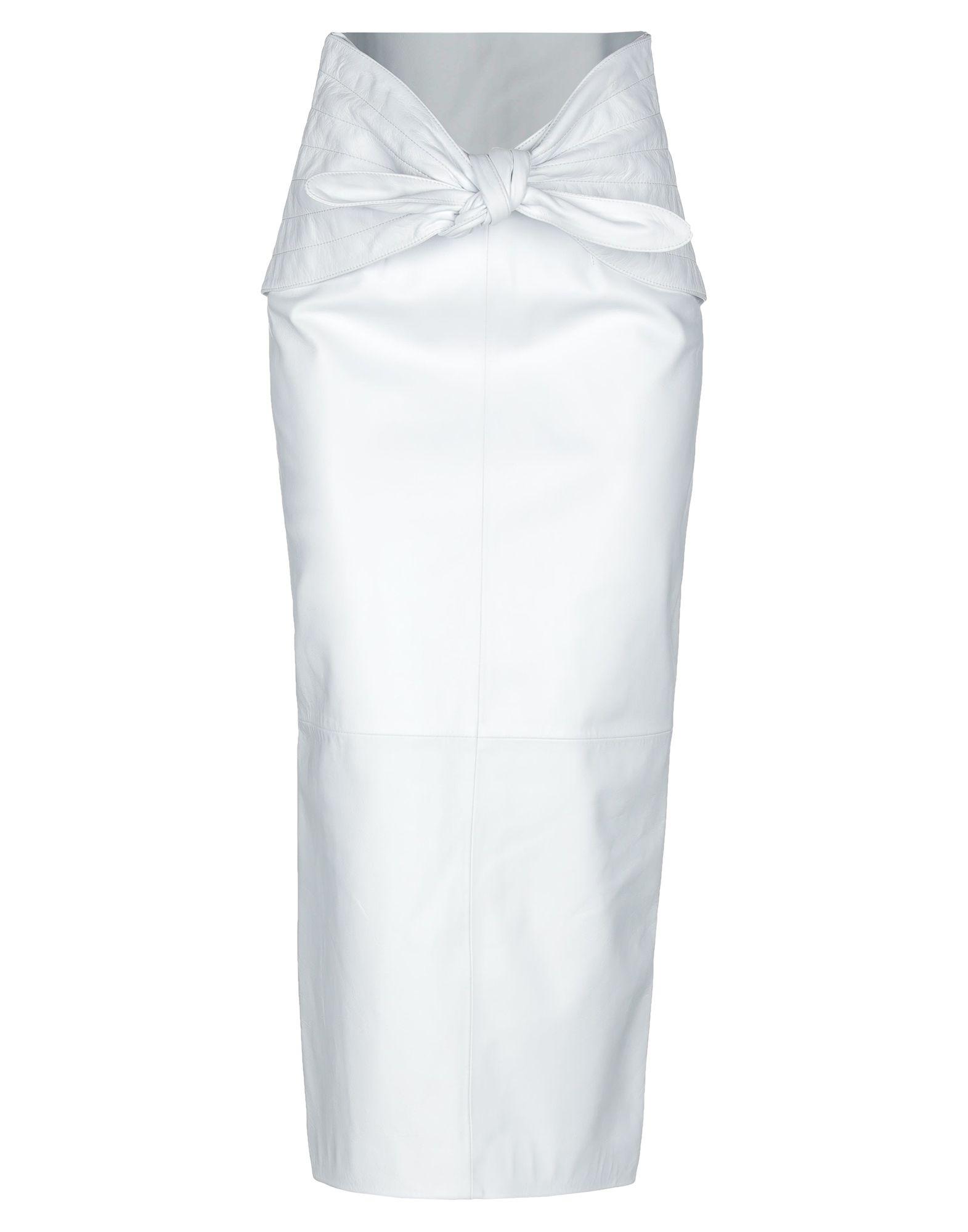 THE ATTICO Длинная юбка недорого