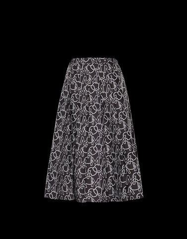 SKIRT Black New in Woman