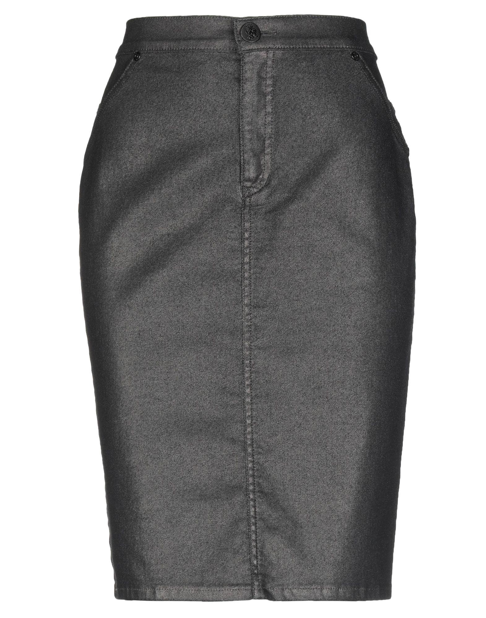 Фото - ELISA FANTI Джинсовая юбка юбка elisa fanti юбка