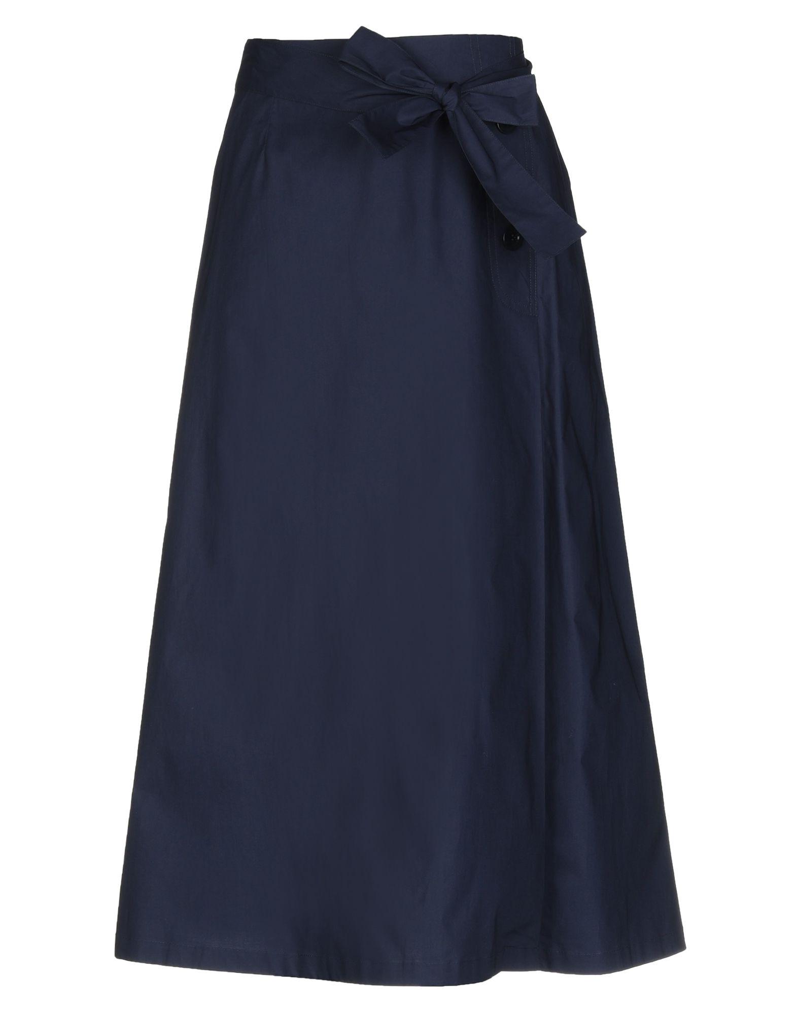 BLUE LES COPAINS Юбка длиной 3/4 blue les copains мини юбка