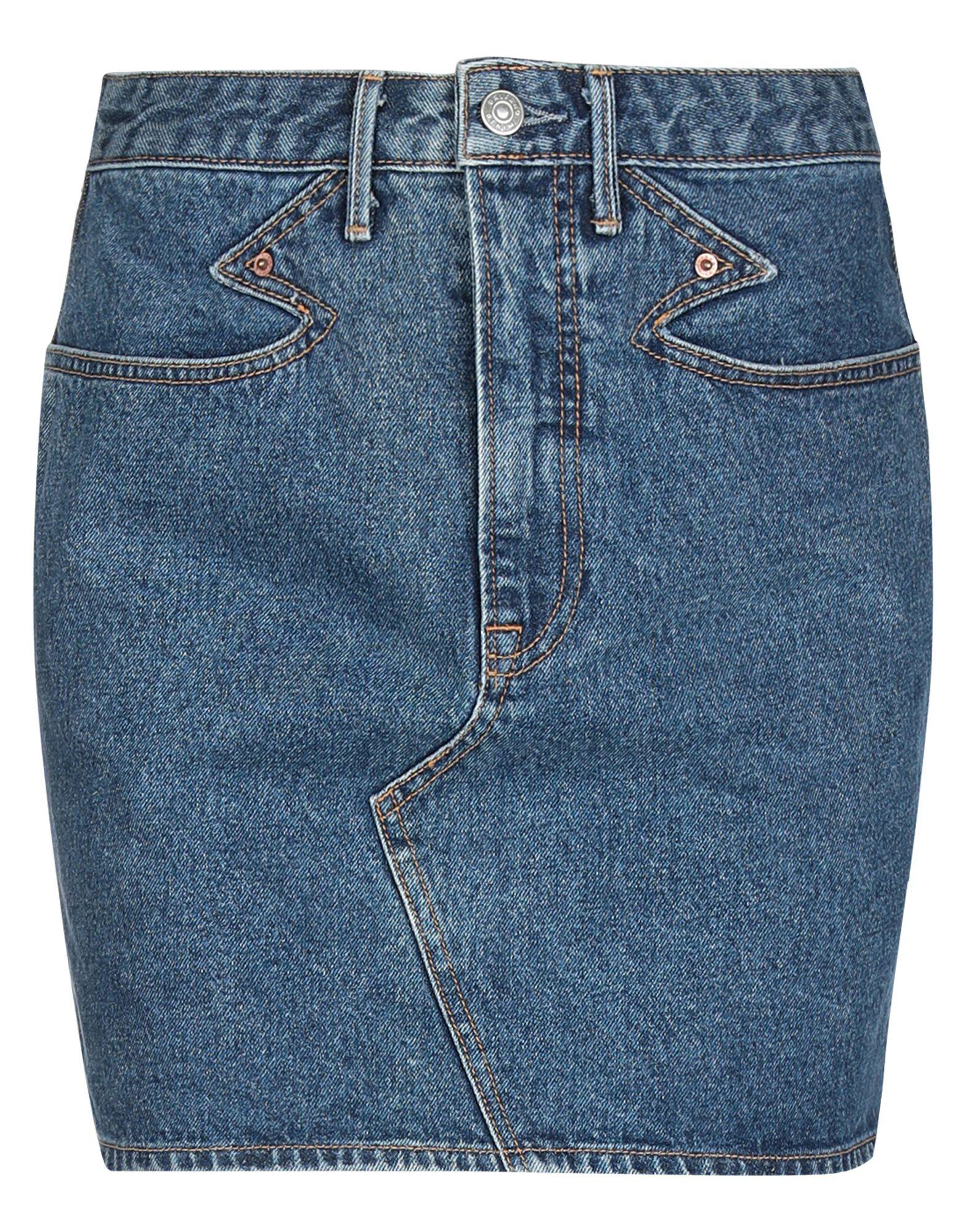 GRLFRND Мини-юбка grlfrnd джинсовая юбка