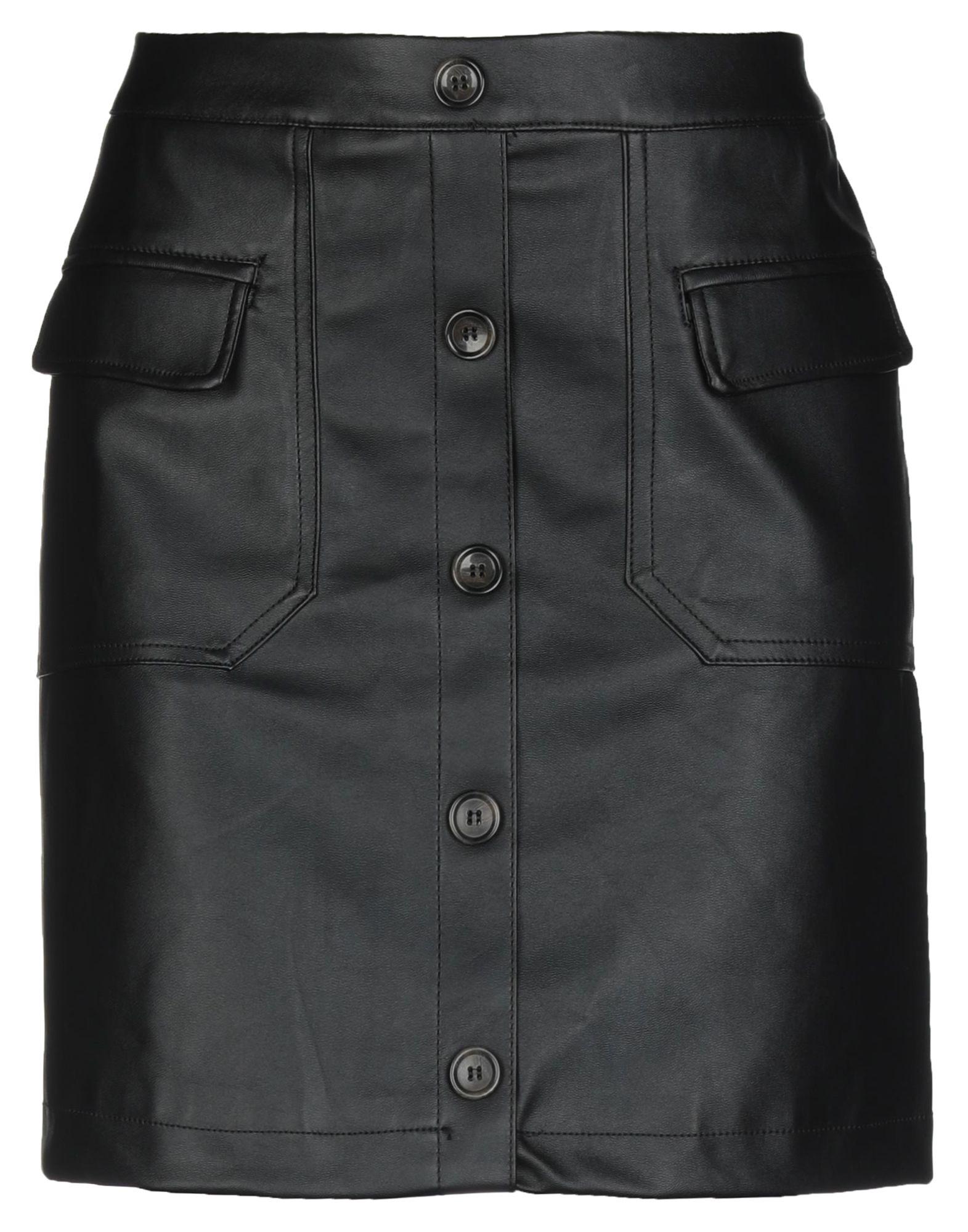 《セール開催中》VERO MODA レディース ミニスカート ブラック M ポリウレタン 100%