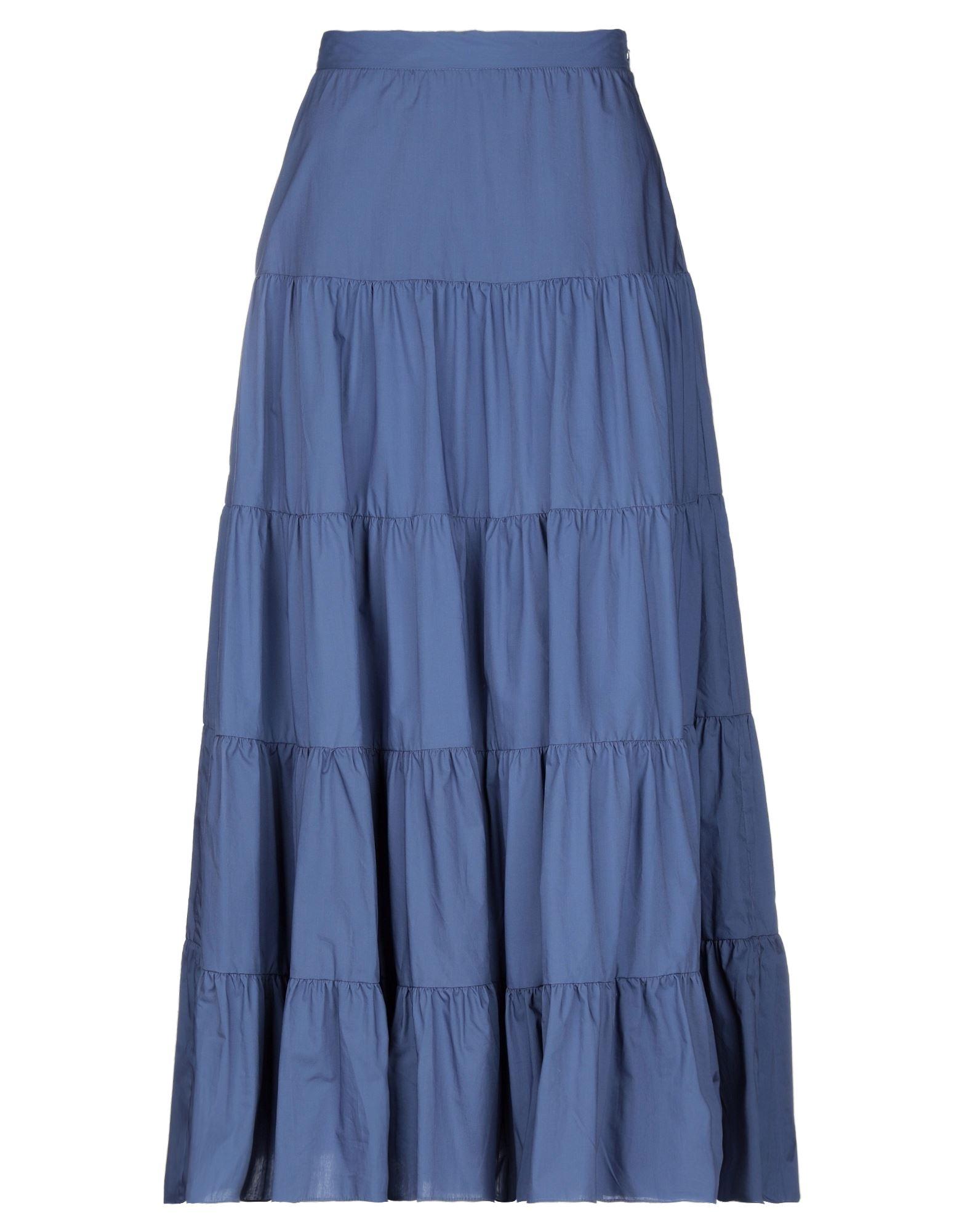 BIANCOGHIACCIO Длинная юбка biancoghiaccio мини юбка