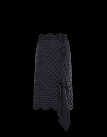 半裙 黑色 1 Moncler JW Anderson 女士