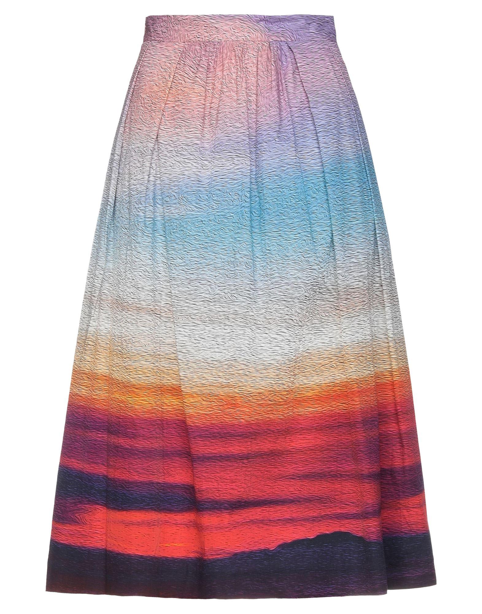 MARY KATRANTZOU Юбка длиной 3/4 mary katrantzou платье длиной 3 4