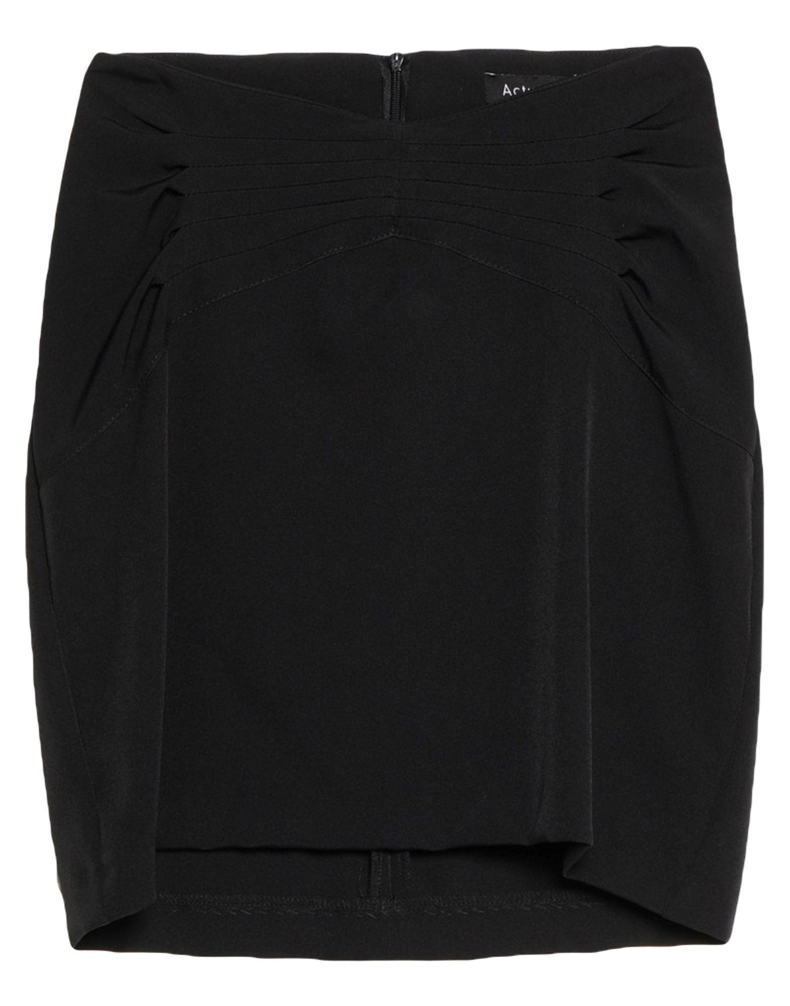Actualee Mini Skirts In Black