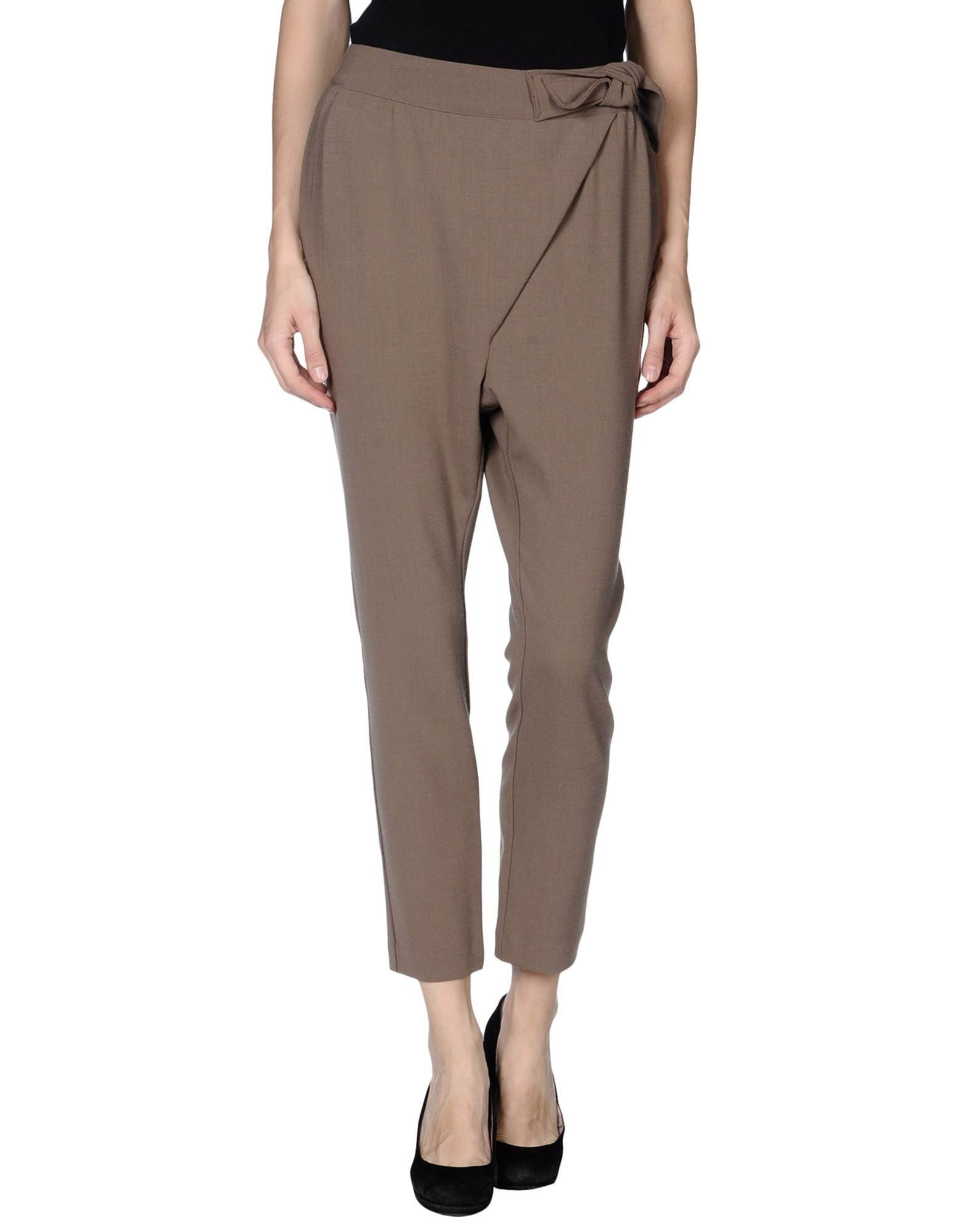 DANIELE ALESSANDRINI Повседневные брюки цены онлайн