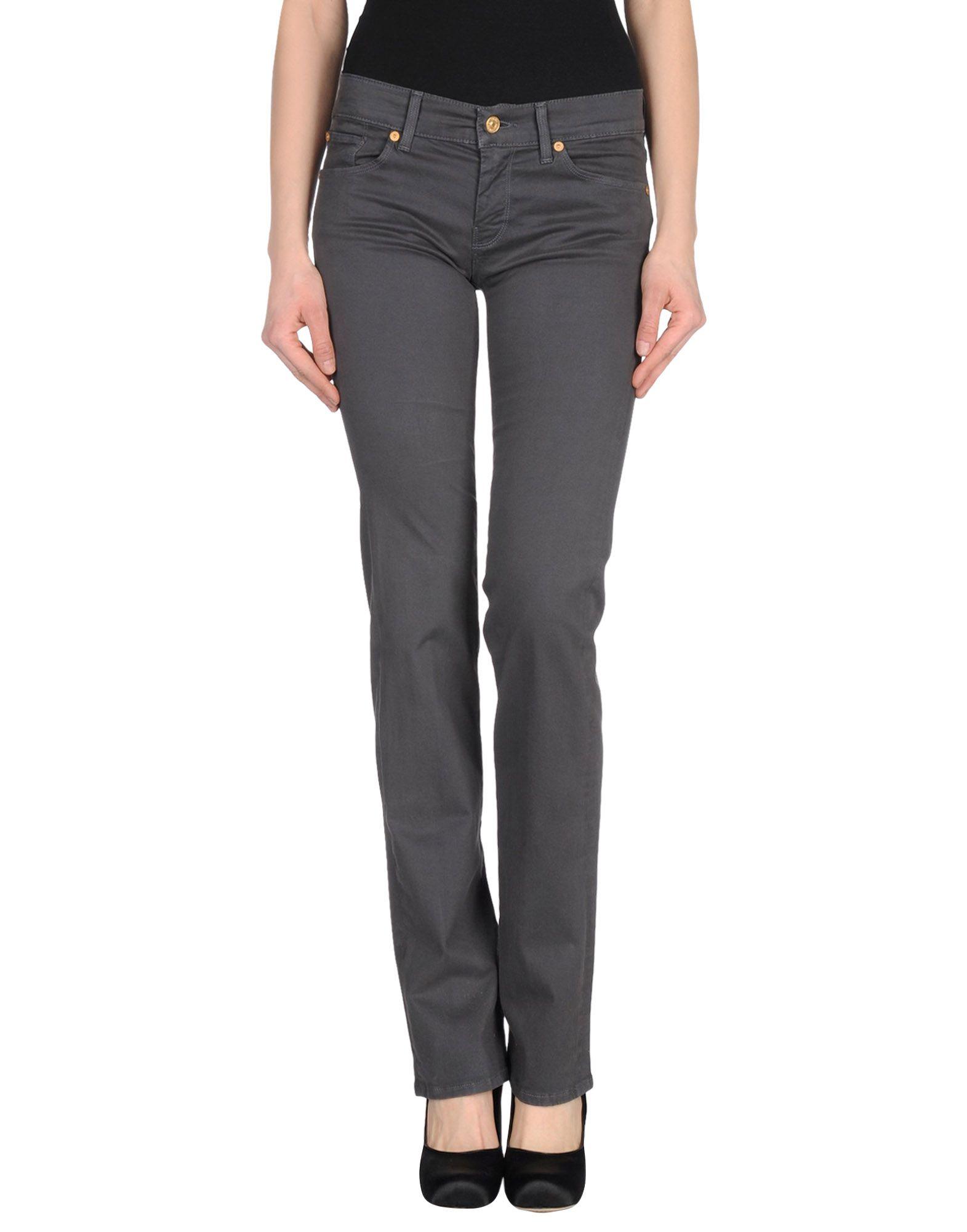 7 FOR ALL MANKIND Повседневные брюки недорго, оригинальная цена