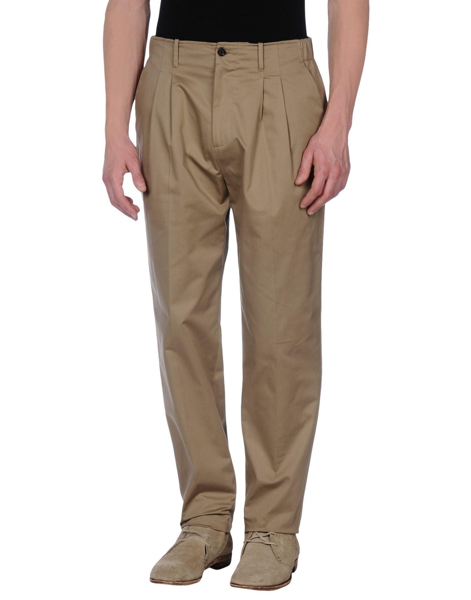 GIULIANO FUJIWARA Casual Pants in Dove Grey