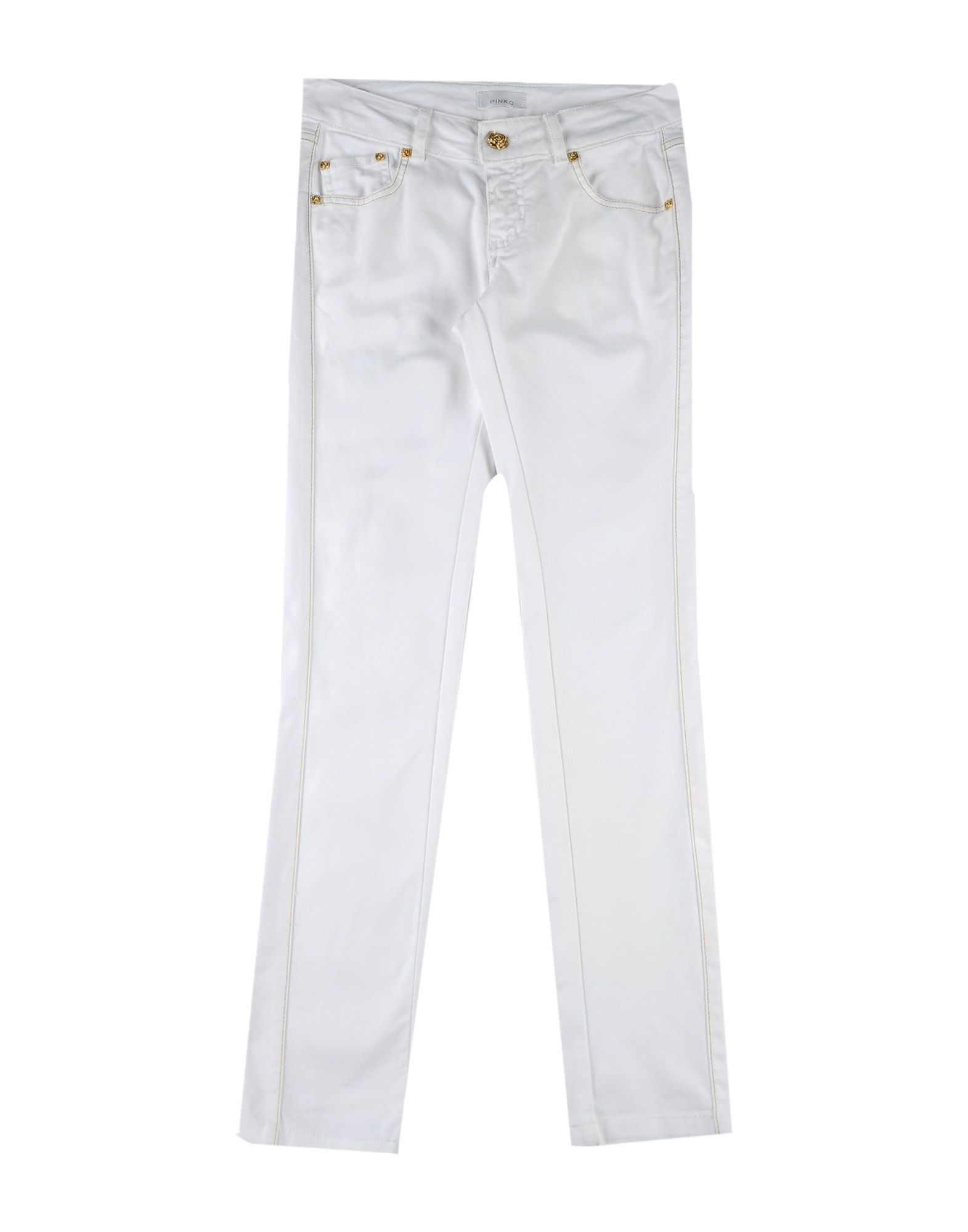 Pinko Kids' Casual Pants In White