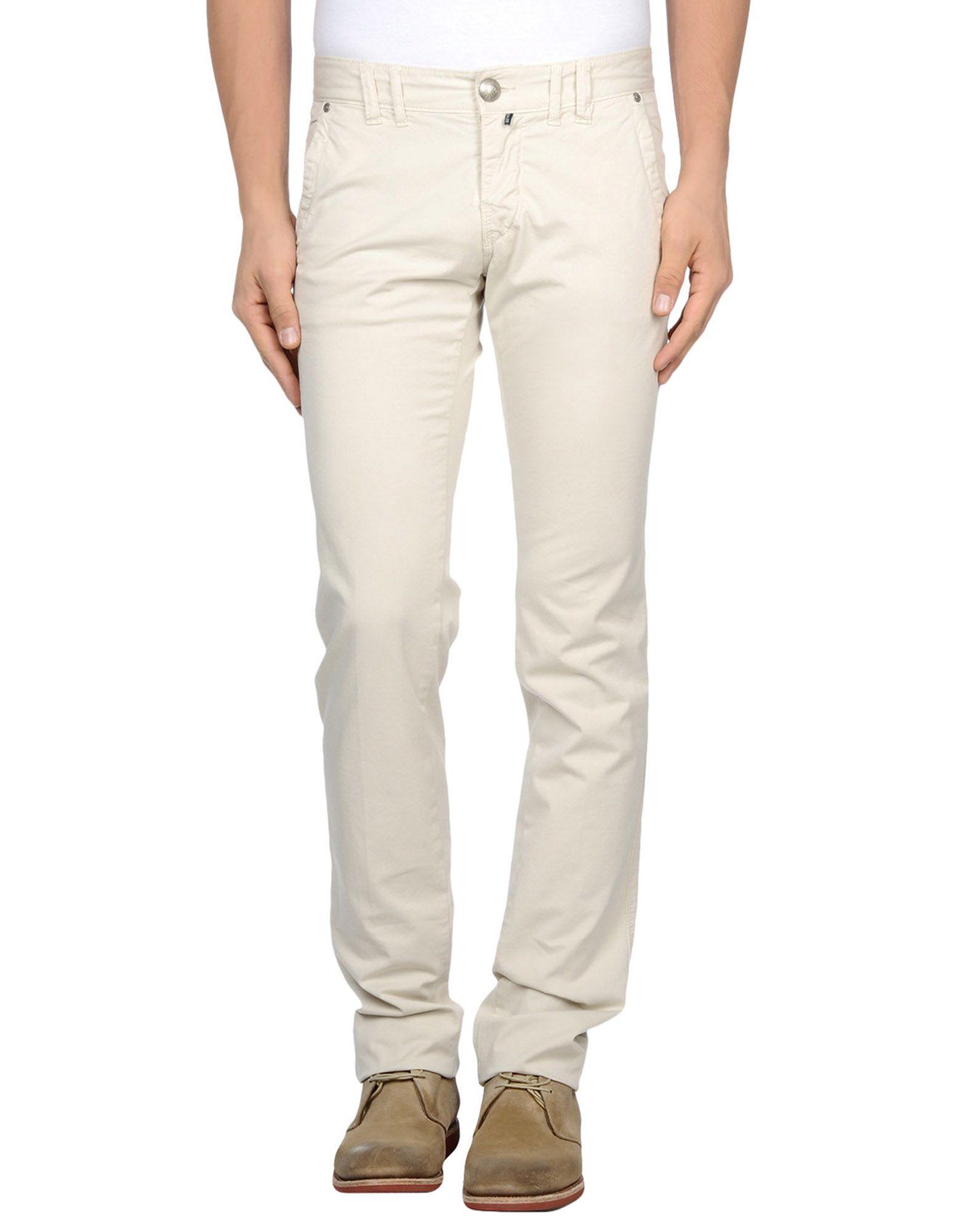 《期間限定セール開催中!》ONE SEVEN TWO メンズ パンツ アイボリー 29 コットン 98% / ポリウレタン 2%