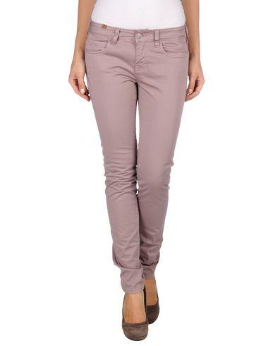 Фото - Повседневные брюки от ATELIER NOTIFY пастельно-розового цвета