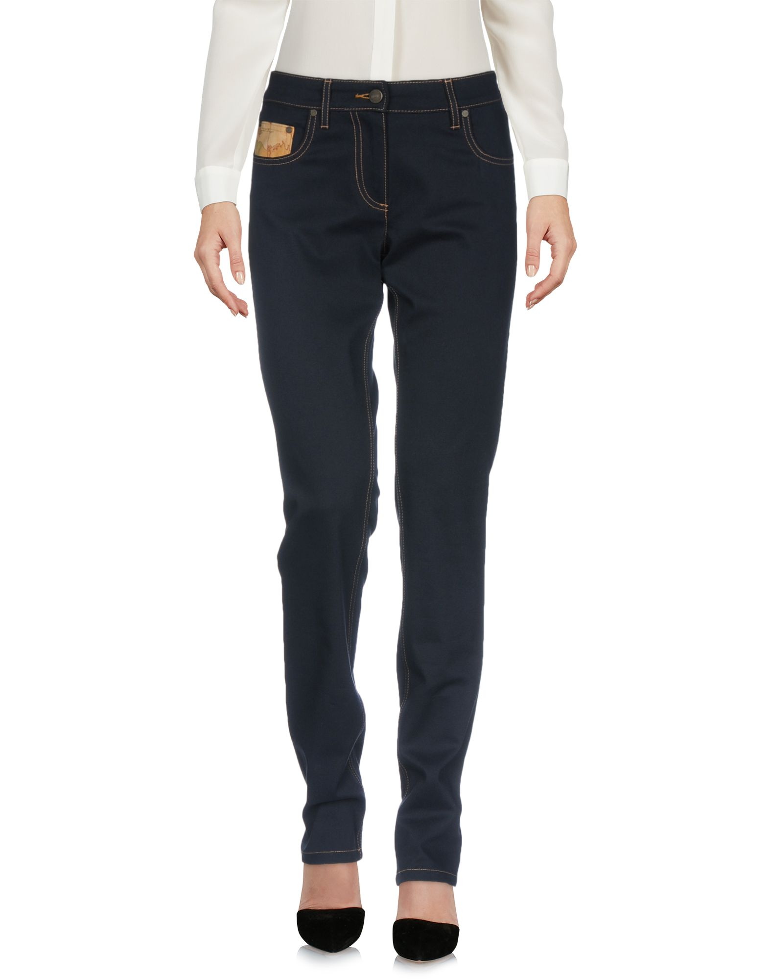 DONNAVVENTURA by ALVIERO MARTINI 1a CLASSE Повседневные брюки цена 2017