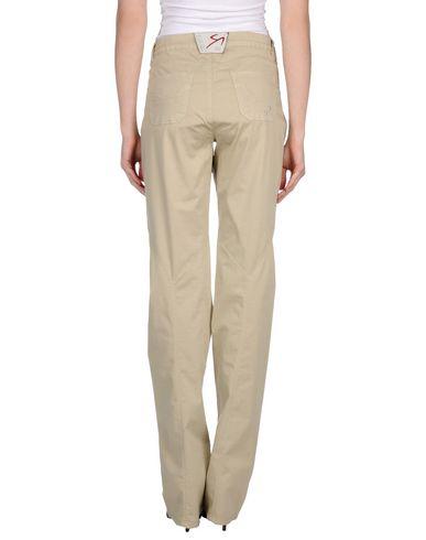 Фото 2 - Повседневные брюки от 9.2 BY CARLO CHIONNA бежевого цвета