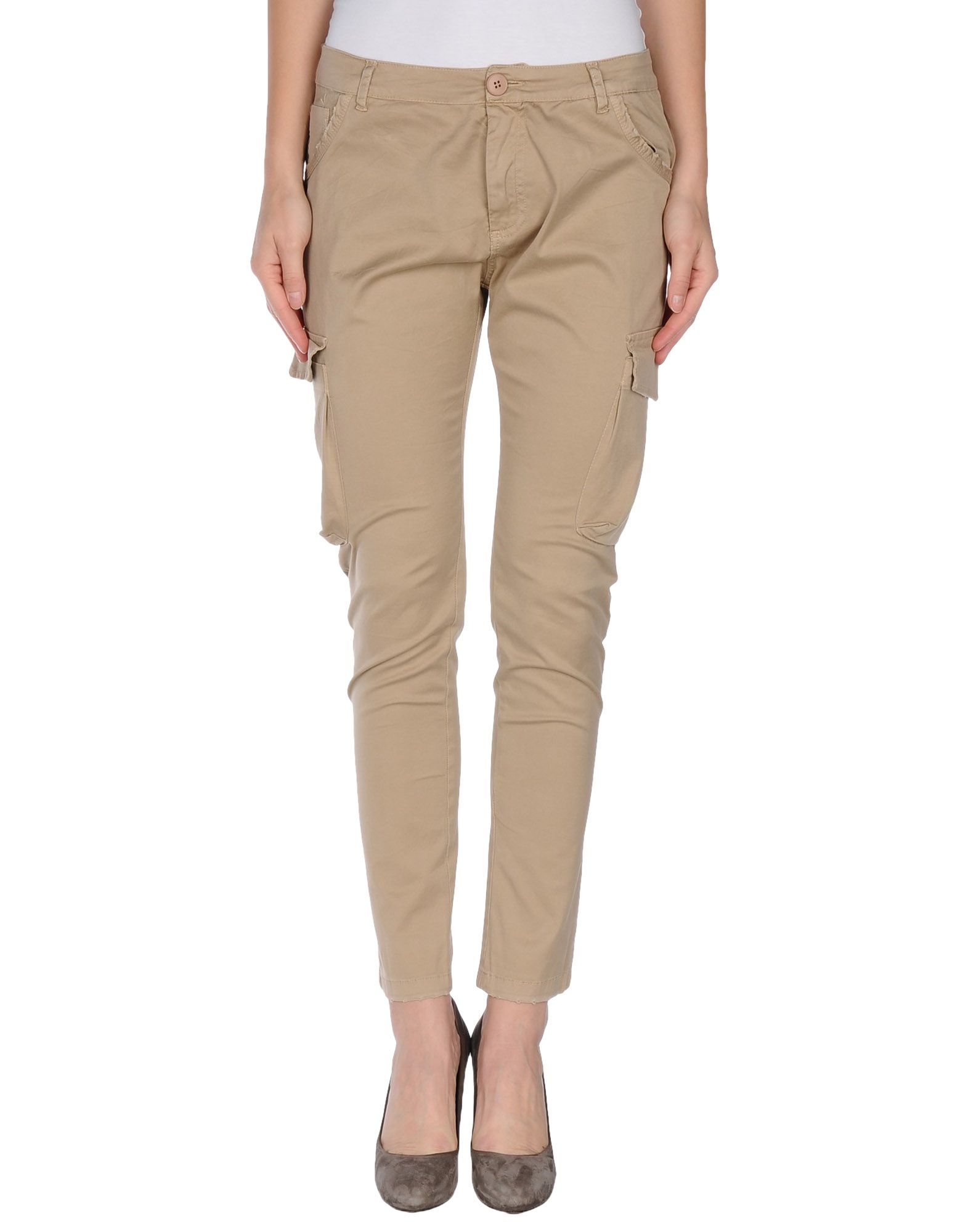 ANIYE BY Damen Hose Farbe Beige Größe 3