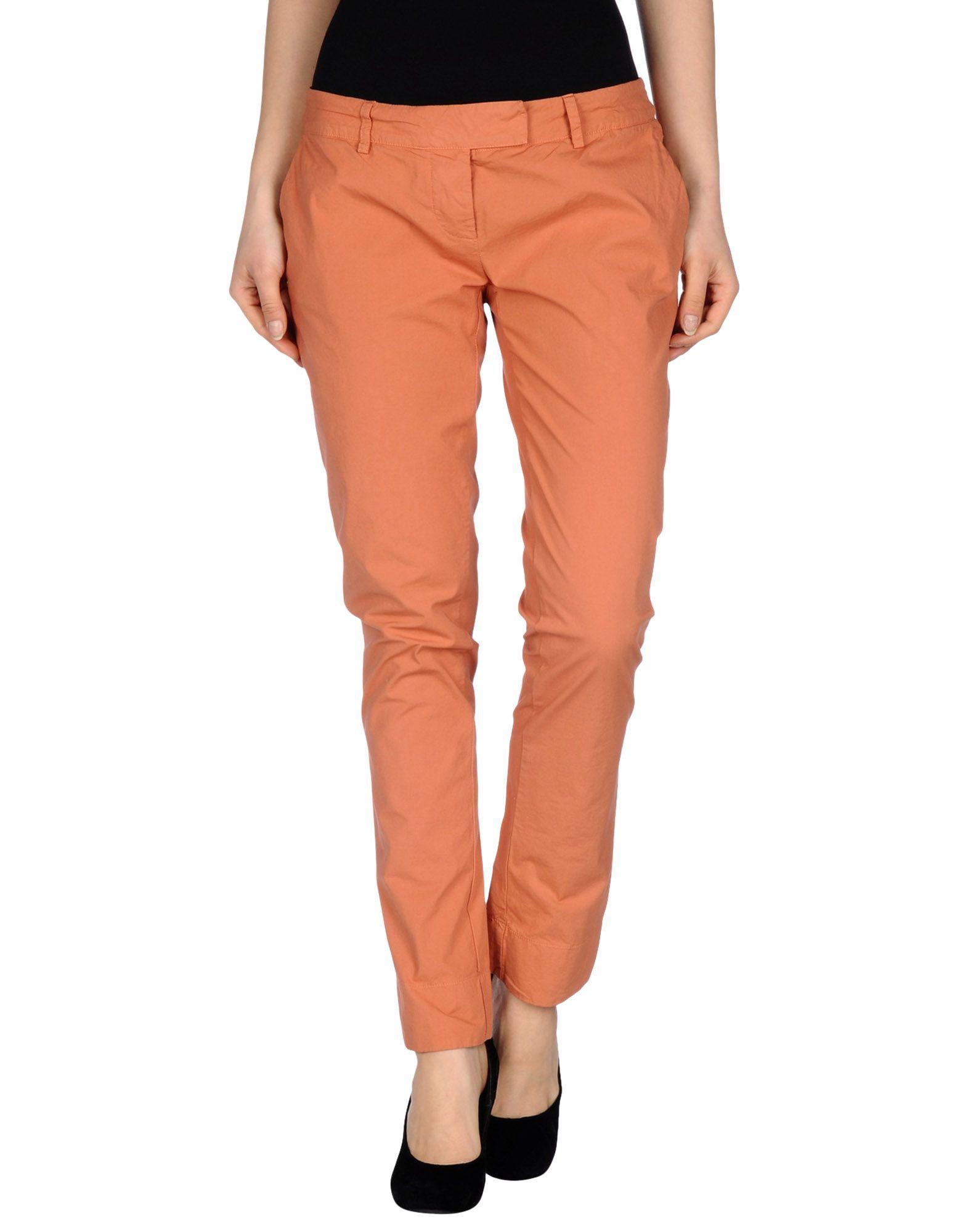 MANILA GRACE Damen Hose Farbe Rostrot Größe 5