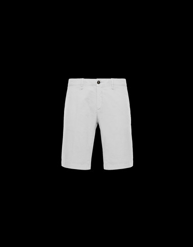 Bermuda White Pants Man