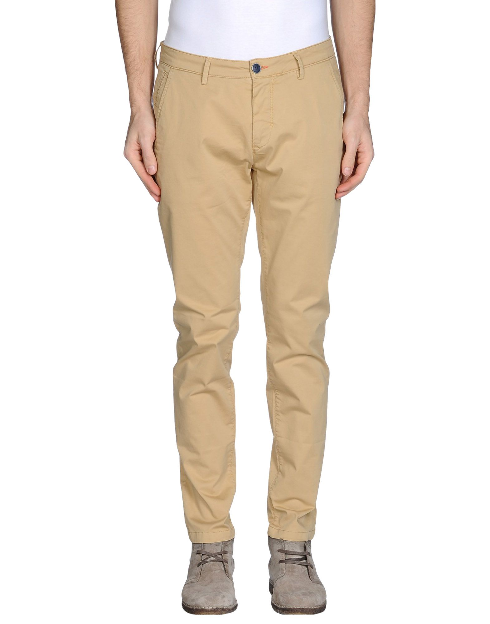 Фото YAN SIMMON Повседневные брюки. Купить с доставкой