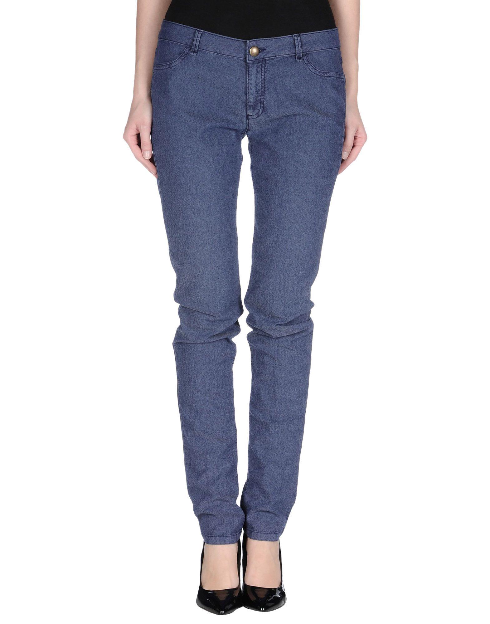 цена EMME by MARELLA Джинсовые брюки онлайн в 2017 году