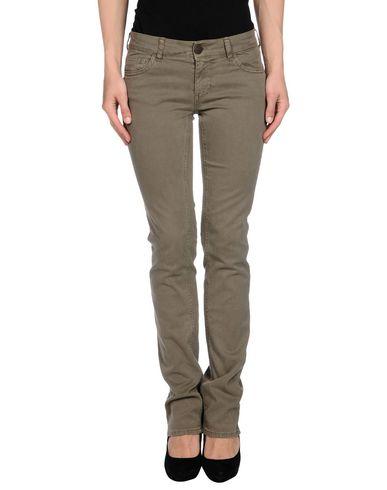 Фото - Повседневные брюки от TWIN-SET JEANS цвет зеленый-милитари