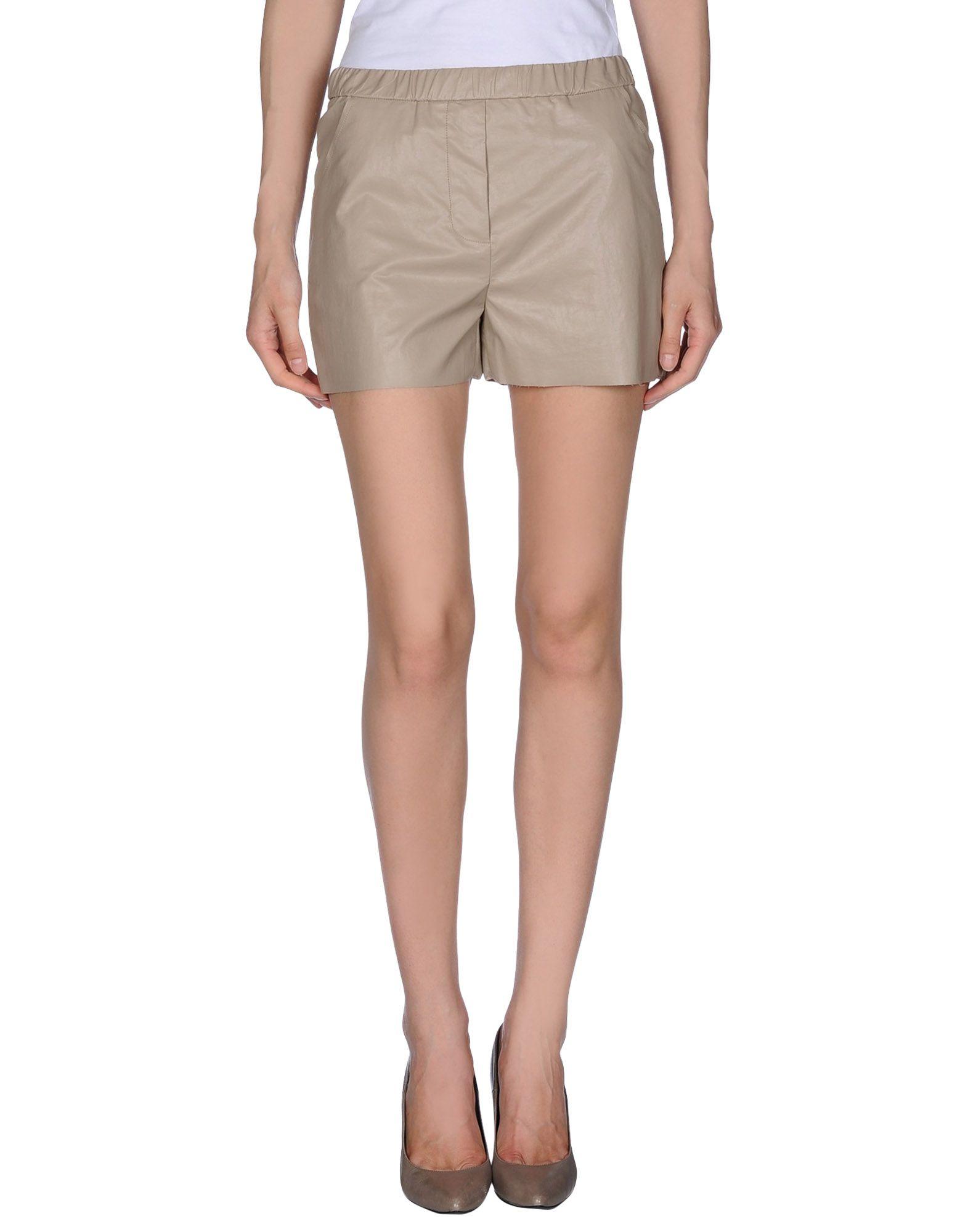 DOUUOD Damen Shorts Farbe Beige Größe 5