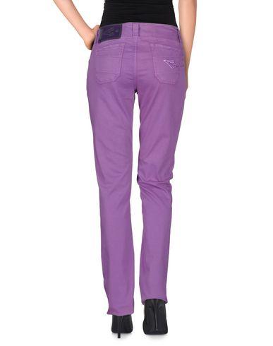Фото 2 - Повседневные брюки от CARLO CHIONNA фиолетового цвета