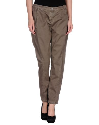 Фото - Повседневные брюки от TWINSET цвета хаки