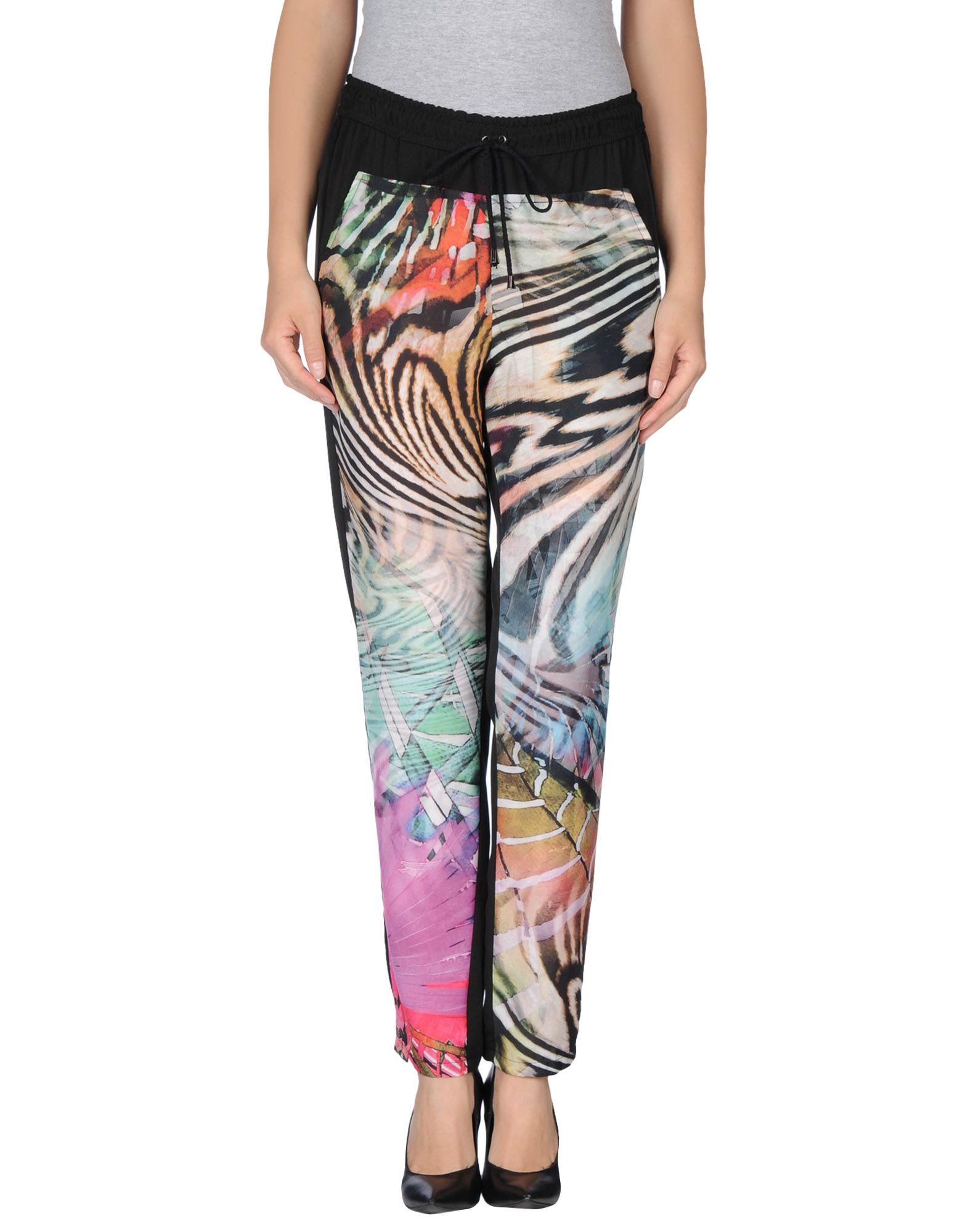 DANIELA FARGION Повседневные брюки цены онлайн