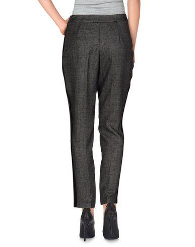 Фото 2 - Повседневные брюки от ROBERTO COLLINA черного цвета