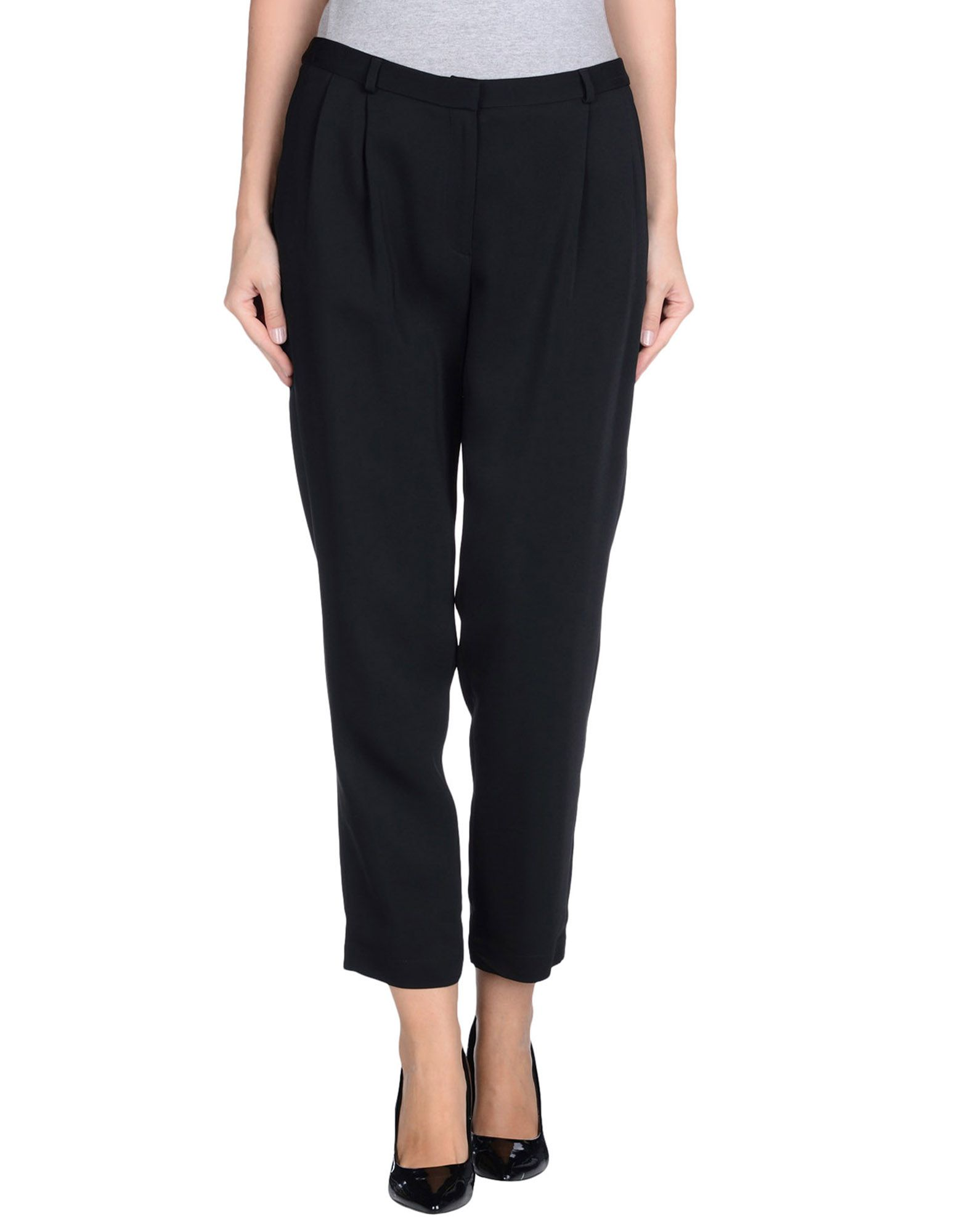 Повседневные брюки  Черный цвета