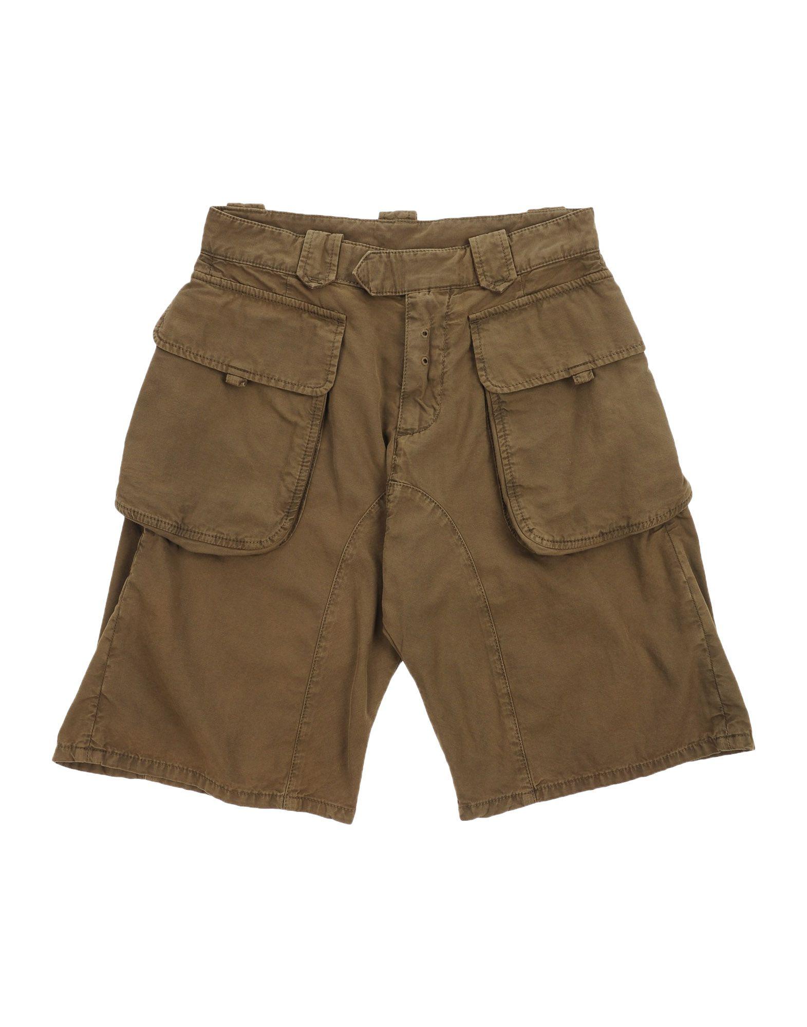 DSQUARED2 Jungen 3-8 jahre Bermudashorts Farbe Militärgrün Größe 4