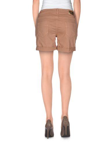 Фото 2 - Повседневные шорты цвет телесный