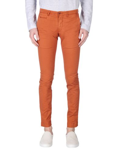 Фото - Повседневные брюки от SIVIGLIA WHITE ржаво-коричневого цвета