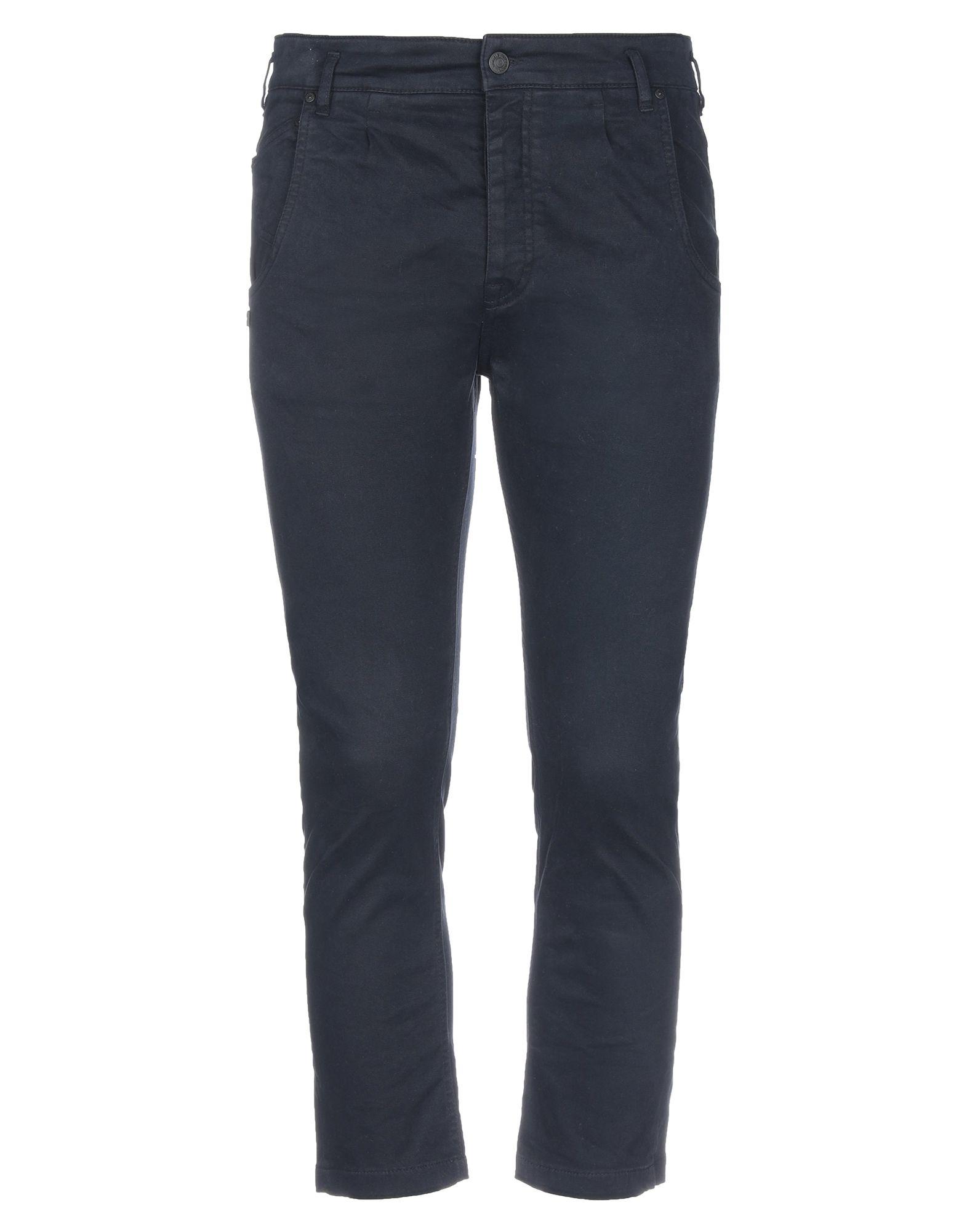 《セール開催中》DANIELE ALESSANDRINI メンズ パンツ ダークブルー 32 コットン 98% / ポリウレタン 2%