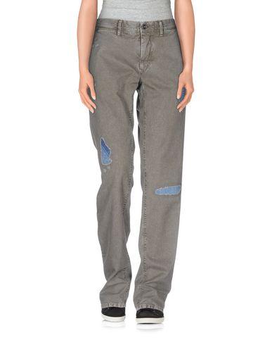 Фото - Повседневные брюки от INCOTEX RED свинцово-серого цвета