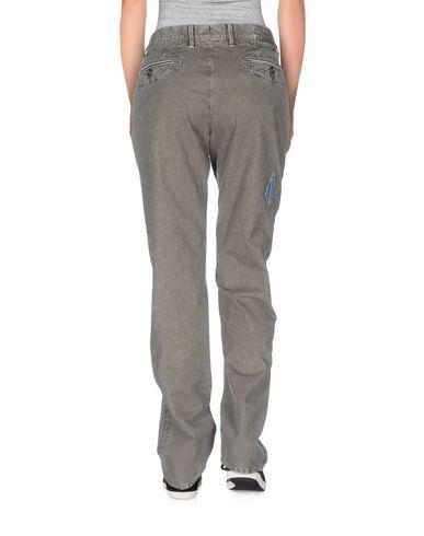 Фото 2 - Повседневные брюки от INCOTEX RED свинцово-серого цвета