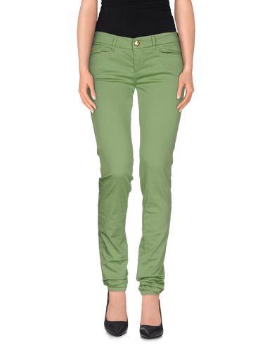 Фото - Повседневные брюки от D-21 зеленого цвета